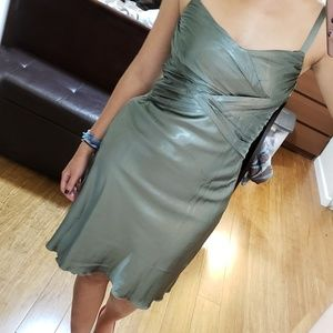 Dresses - Army Green dress, S